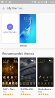 Extensive theme support - Samsung Galaxy J3 (2016) review
