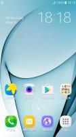 Homescreen - Samsung Galaxy J5 2016  review