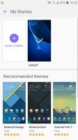 Themes - Samsung Galaxy J5 2016  review