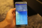 Using the iris scanner - Samsung Galaxy Note7 hands-on