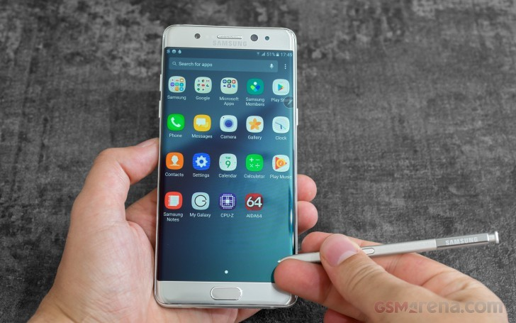 Refurbished Samsung Galaxy Note7 gets FCC certified