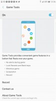 Game Tools within a game - Samsung Galaxy Note7 review