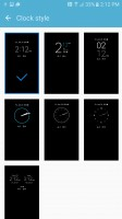 Choose or download more clock styles - Samsung Galaxy S7 Active review