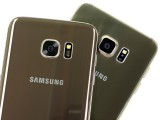The backs are similar - Samsung Galaxy S7 Edge review