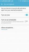 Do not disturb - Samsung Galaxy S7 Edge review