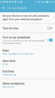 Do not disturb - Samsung Galaxy S7 review