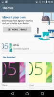 Xperia themes - Sony Xperia X Performance review