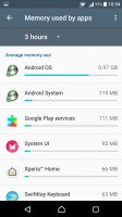 Smart cleaner frees up memory of both kinds - Sony Xperia X Performance review