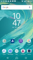 Homescreen - Sony Xperia X Performance review