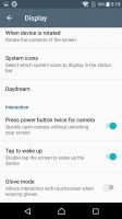 Lockscreen settings - Sony Xperia X review