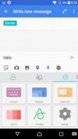 Customizeable SwiftKey keyboard - Sony Xperia X review