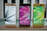 Three color schemes, no rose gold though - Sony Xperia XA Ultra hands-on