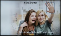 Hand shutter - Sony Xperia XA Ultra hands-on