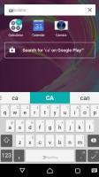 Standard app drawer - Sony Xperia XA Ultra review