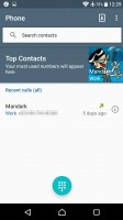 Call log - Sony Xperia XA Ultra review