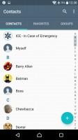Phonebook - Sony Xperia XA Ultra review