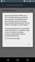 The Xperia X has a built-in answering machine - Sony Xperia XA Ultra review