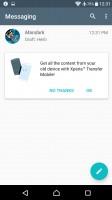 Messaging app - Sony Xperia XA Ultra review