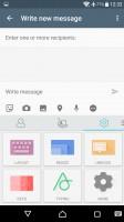 Customizable SwiftKey keyboard - Sony Xperia XA Ultra review