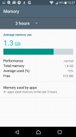Smart Cleaner frees up memory of both kinds - Sony Xperia XA review