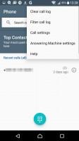 Call log filtering - Sony Xperia XA review