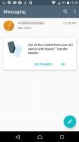 Messaging app - Sony Xperia XA review