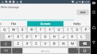 Customizable SwiftKey keyboard - Sony Xperia XA review