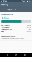 Smart cleaner frees up memory of both kinds - Sony Xperia XZ Preview