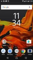 Homescreen - Sony Xperia XZ review