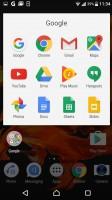 Folder view - Sony Xperia XZ review
