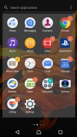App management - Sony Xperia XZ review