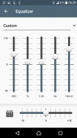 Audio settings - Sony Xperia XZ review
