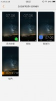 Lockscreen settings - Vivo Xplay5 Elite review