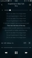 Standard now-playing interface - Vivo Xplay5 Elite review