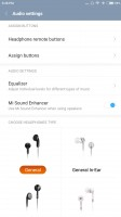 Audio enhancements and equalizers - Xiaomi Mi 5s Plus review
