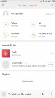 Offline music - Xiaomi Mi Max review