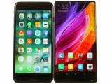 Xiaomi Mi Mix next to the iPhone 7 Plus - Xiaomi Mi Mix review