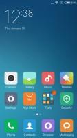 The MIUI homescreens - Xiaomi Redmi 3 review