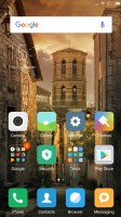 The MIUI homescreens - Xiaomi Redmi Note 3 Snapdragon Review review