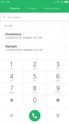 Dialer - Xiaomi Redmi Note 4 review