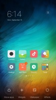 there is no app drawer - Xiaomi Redmi Pro  review