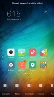 Customizing the homescreen - Xiaomi Redmi Pro  review