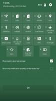 Standard notification area - ZTE Axon 7 review