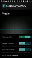 Dolby Atmos settings - ZTE Axon 7 review