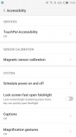 Additional accessibility options - Nubia Z11 review
