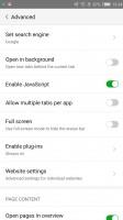 Default browser - Nubia Z11 review