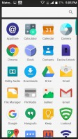 Homepages and app drawer - Zte Zmax Pro Hands On review