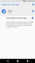 Tapping on it lets you turn off the function for that app - Android 8.0 Oreo review