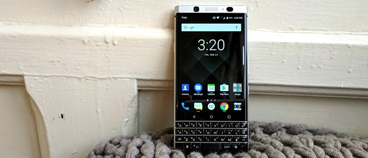 BlackBerry KEYone hands-on