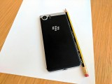 Stylish soft-touch back - Blackberry Keyone review